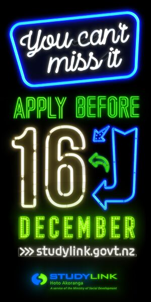 You can't miss it. Apply before 16 December